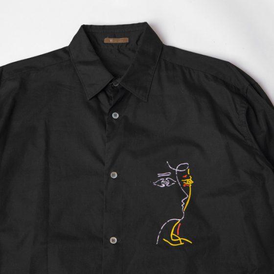 Y's for men Printed Shirt