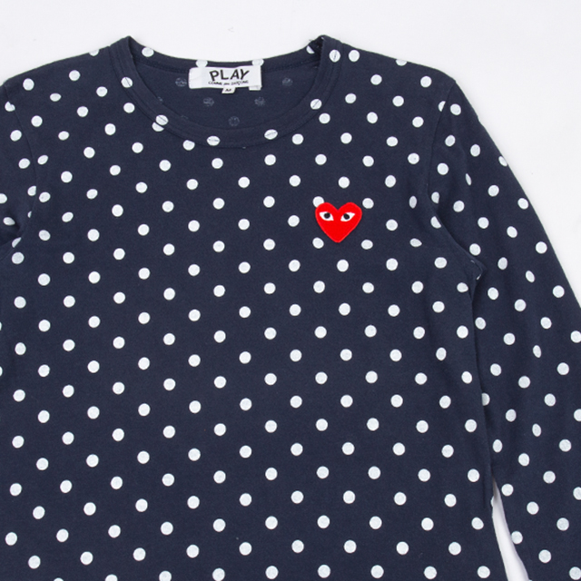 PLAY COMME DES GARCONS  Polka Dots Top