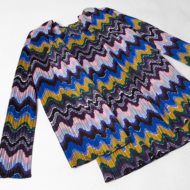 PLEATS PLEASE PRINTED TOPS