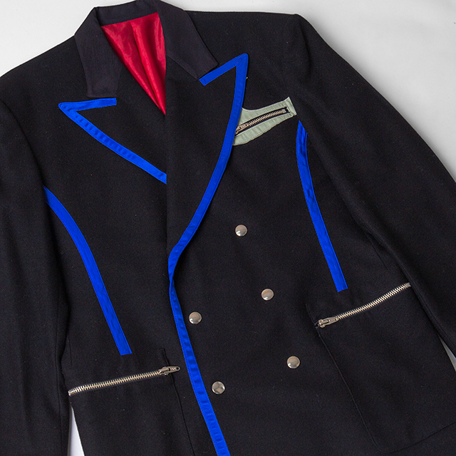 JUNIOR GAULTIER PIPING JACKET