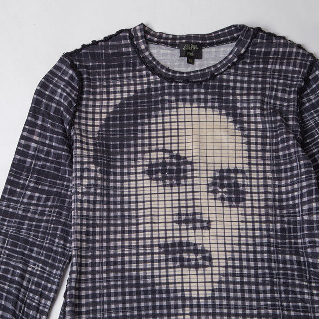 Jean Paul GAULTIER Plaids Woman Printed Top