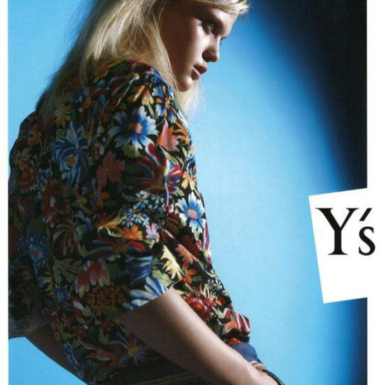 Y's SPRING SUMMER 2012 Invitation Card