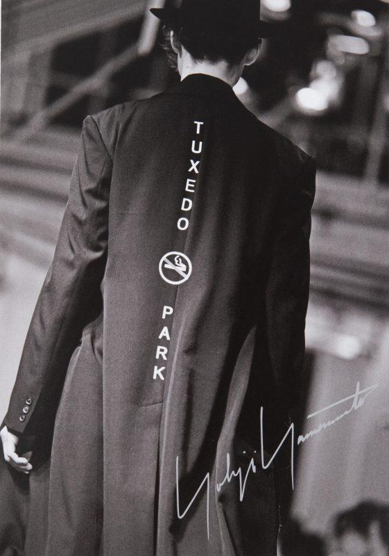Yohji Yamamoto Pour Homme 2020A/W Invitation Card