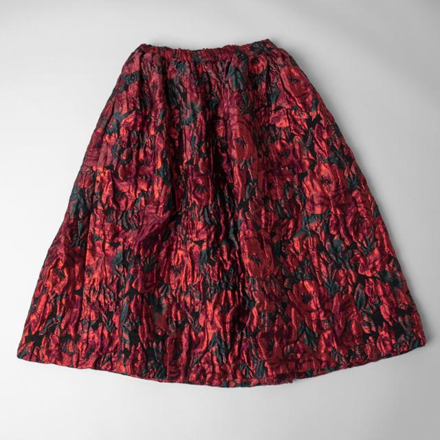 COMME des GARCONS COMME des GARCONS Rose Woven Skirt
