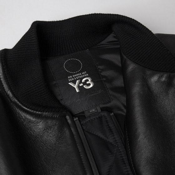 Y-3 2018 A/W Leather Switching Blouson