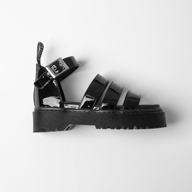 LIMI feu 2020 S/S Enamel Platform Sandal