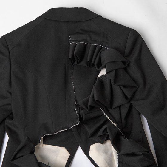 COMME des GARCONS Cutting Frill Jacket