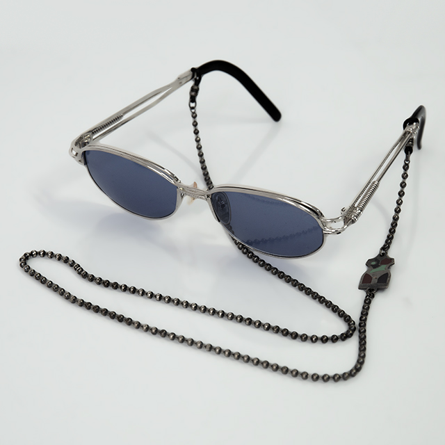 Jean Paul GAULTIER Steampunk Shades with Chain
