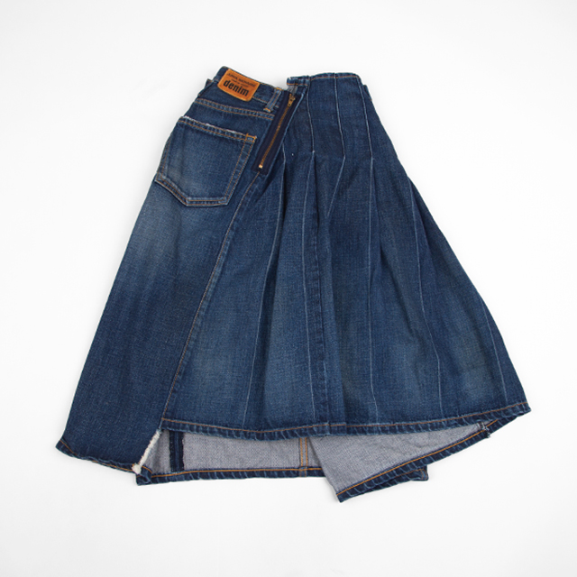 JUNYA WATANABE COMME des GARCONS denim Switching Skirt