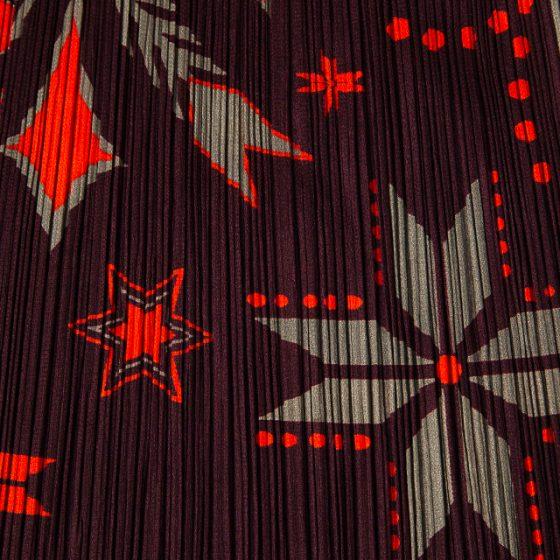PLEATS PLEASE Nordic pattern