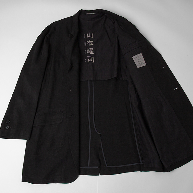 2010S/S Yohji Yamamoto POUR HOMME Russian Printed Jacket