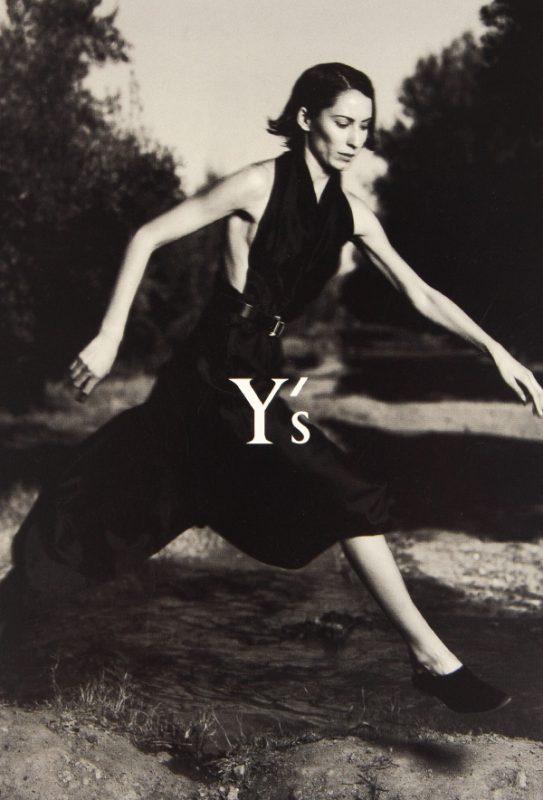 Y's SPRING/SUMMER 2001 Invitation Card