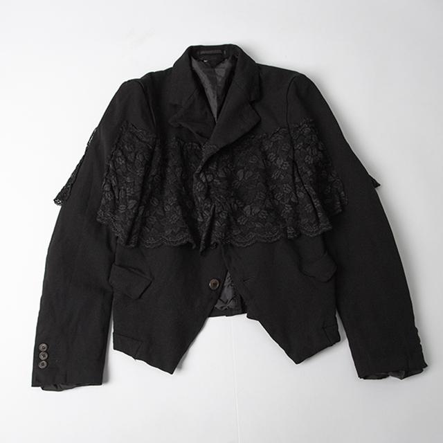 COMME des GARÇONS AD2010 Lace Switched Jacket