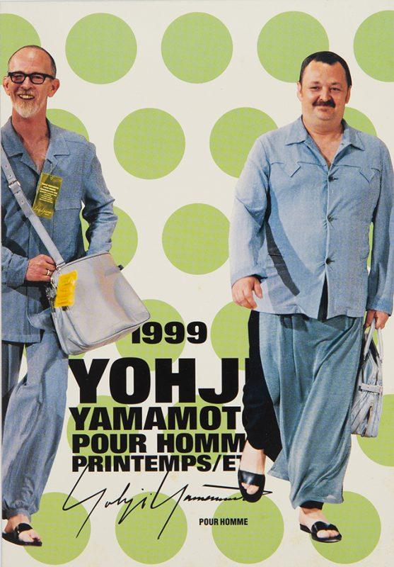 1999 YOHJI YAMAMOTO POUR HOMME PRINTEMPS/ETE