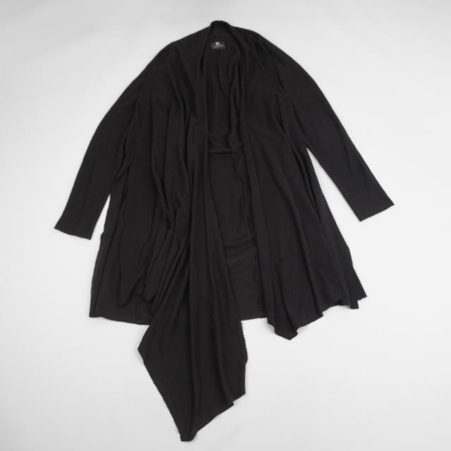 B Yohji Yamamoto Drape Over-sized Cardigan