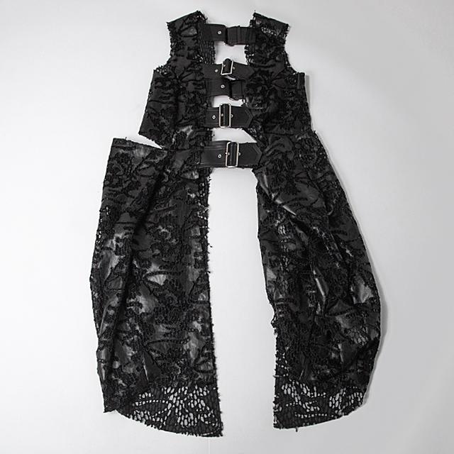 2019A/W Comme des Garcons Lace Belted Dress