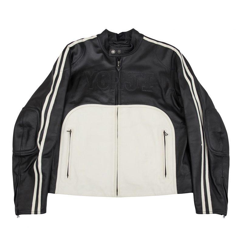 2004A/W Yohji Yamamoto POUR HOMM x DAINESE Leather Jacket