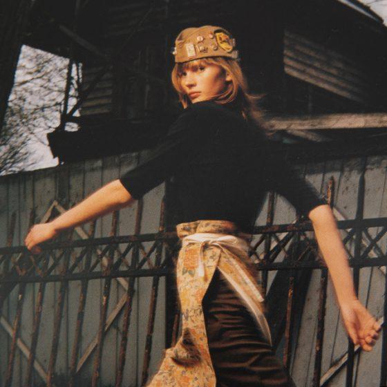 Y's Yohji Yamamoto 2001 - 2002 A/W Invitation Card