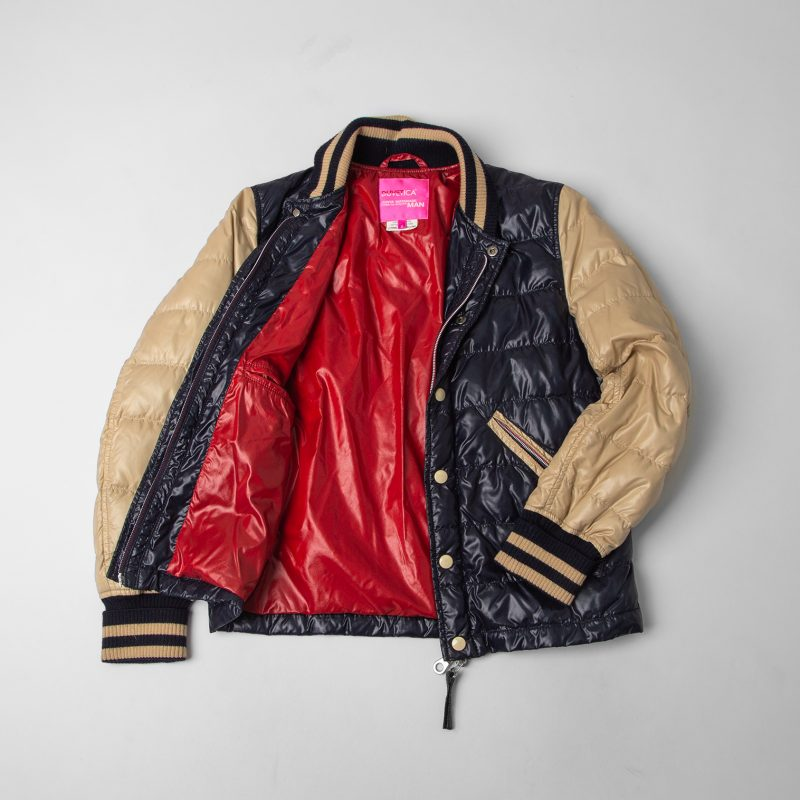 JUNYA WATANABE MAN PINK COMME des GARCONS × DUVETICA Down College jacket