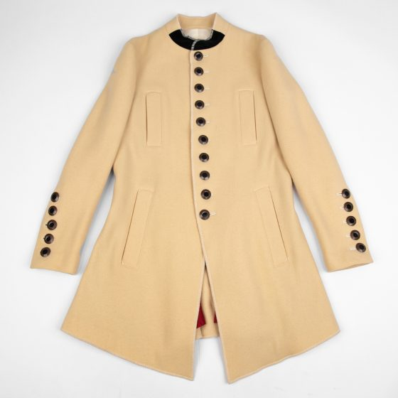 Jean Paul GAULTIER FEMME Stand-collar Metal Button Long Jacket