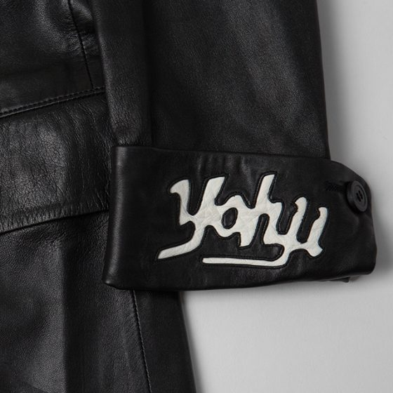 2003A/W Yohji Yamamoto POUR HOMME Leather Switching Jacket