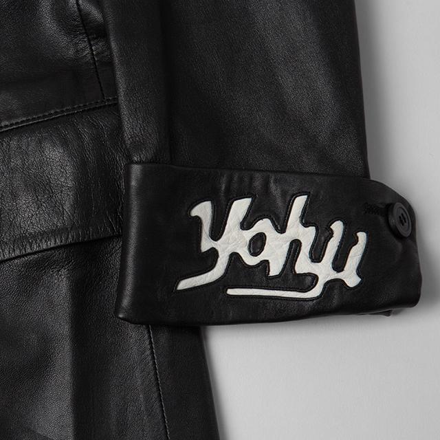2003A/W Yohji Yamamoto POUR HOMME Leather Switching Jacket