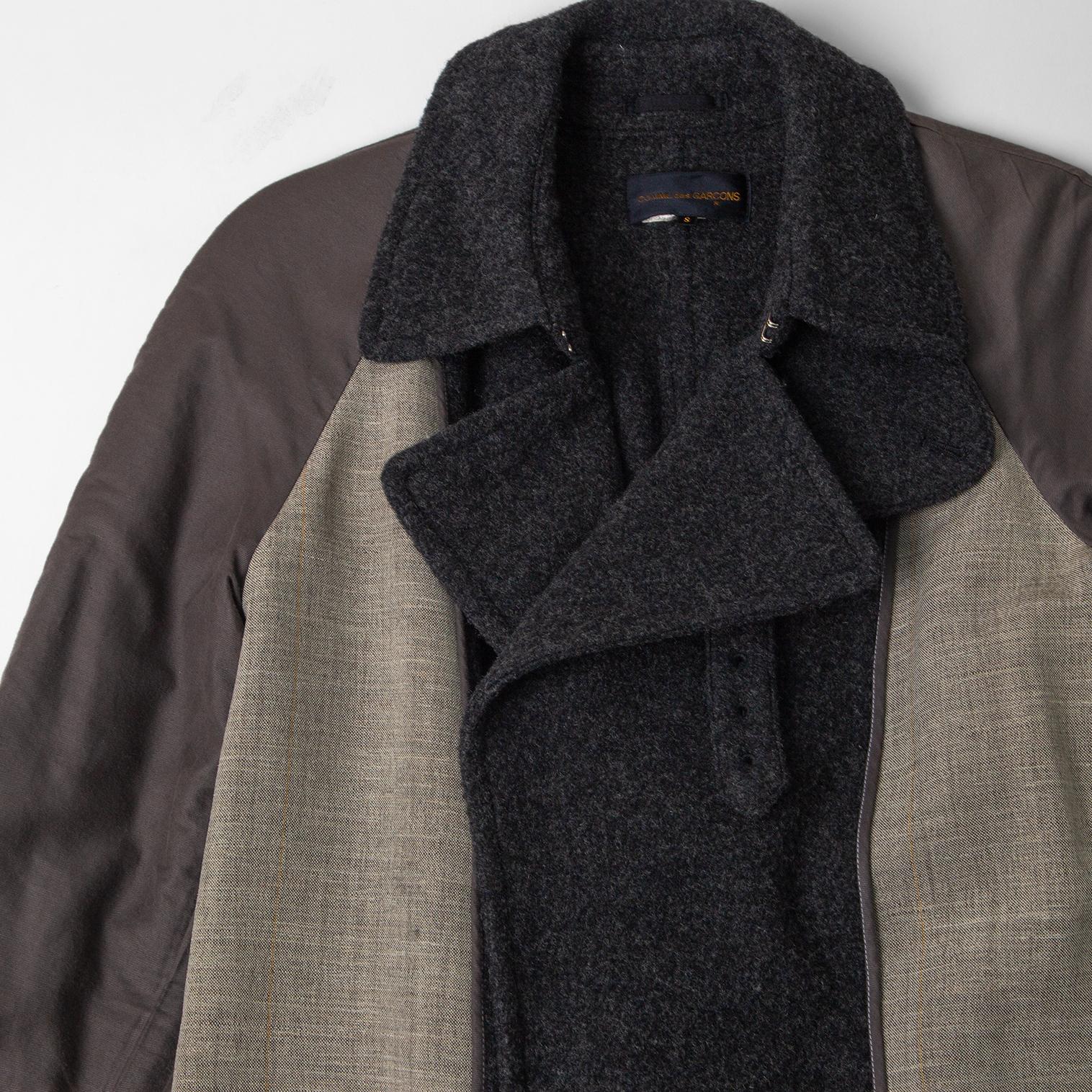 90's COMME des GARCONS Inside-out Design Coat