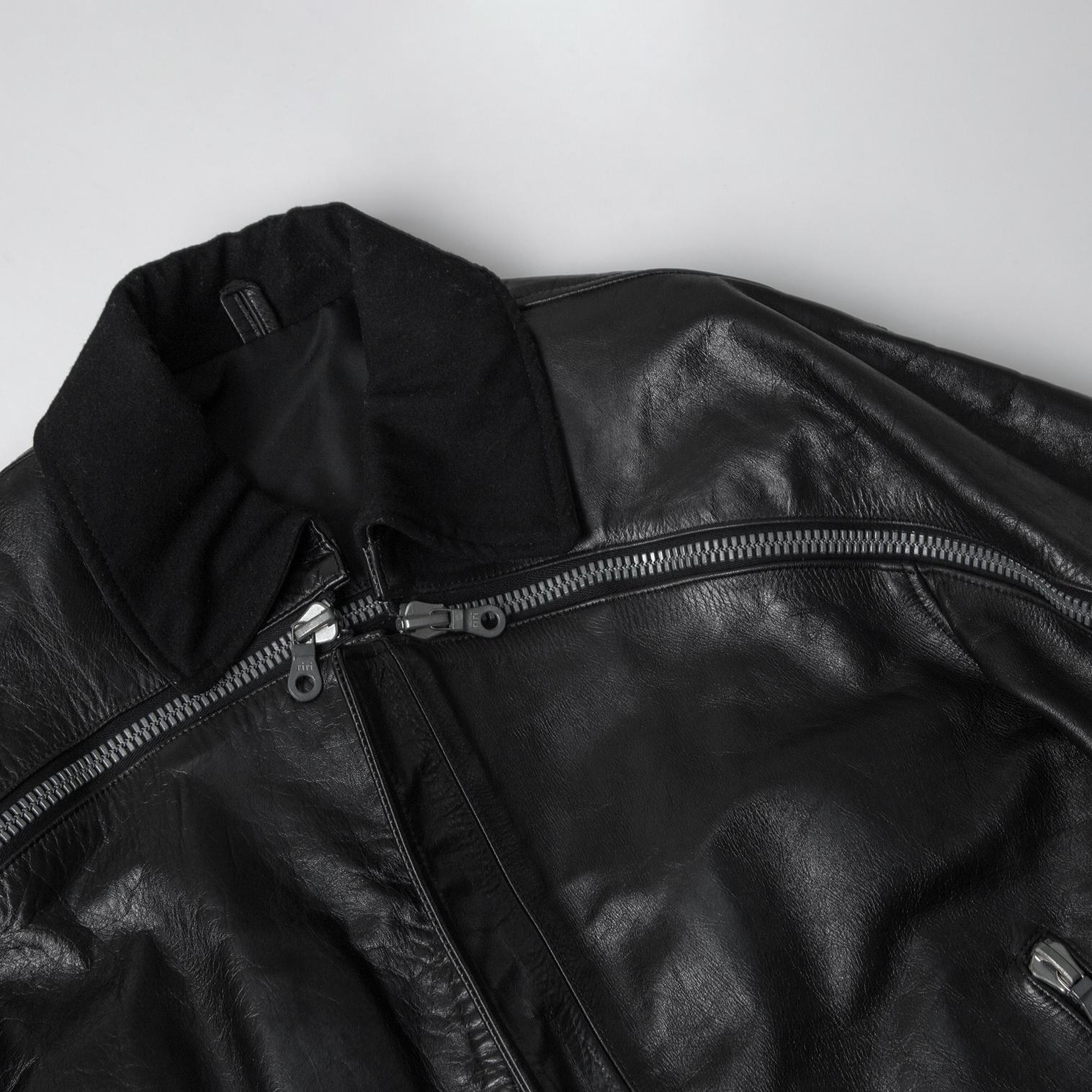 Yohji Yamamoto POUR HOMME 6.1 THE MEN Leather Jacket