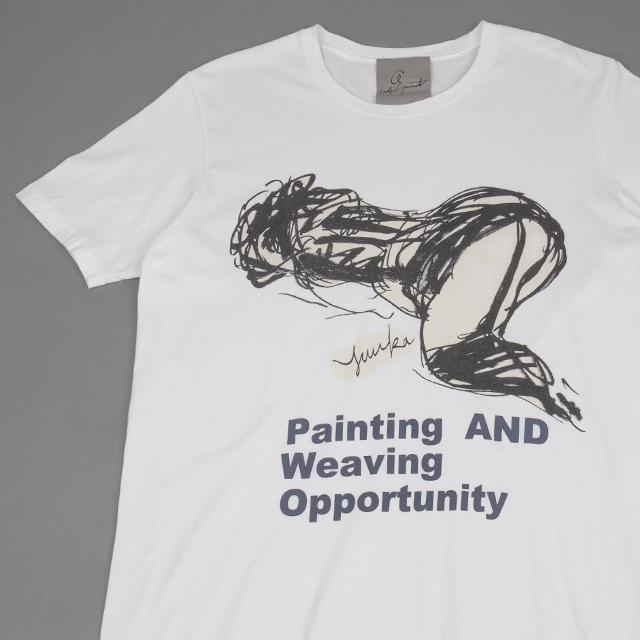 Yohji Yamamoto Yuuka Asakura Printed T-shirt