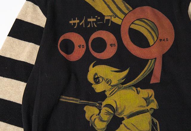 Yohji Yamamoto POUR HOMME Shotaro Ishinomori Cyborg 009 Knit