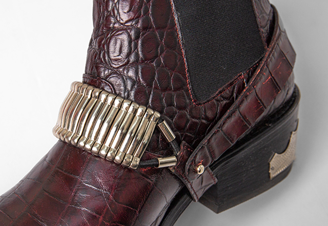 TOGA PULLA Western harness Boots