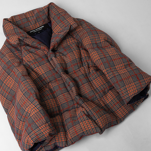 JUNYA WATANABE COMME des GARCONS Padding Plaids Jacket
