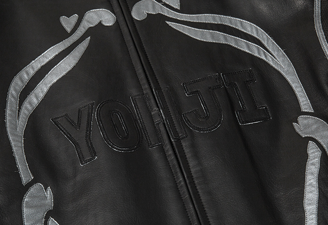Yamamoto POUR HOMME x DAINESE Skull Leather Jacket