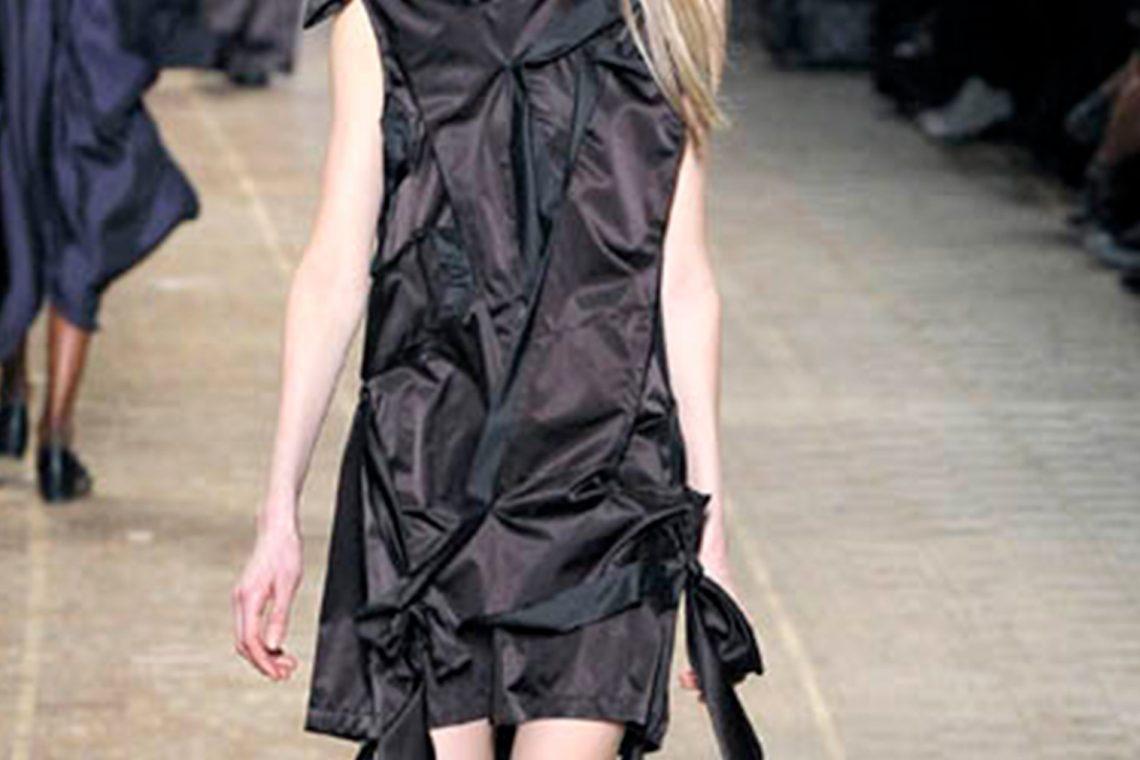 2008A/W ISSEY MIYAKE Switching Dress