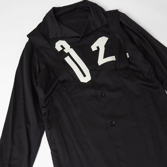 2019S/S Yohji Yamamoto POUR HOMME Suspender Design Shirt