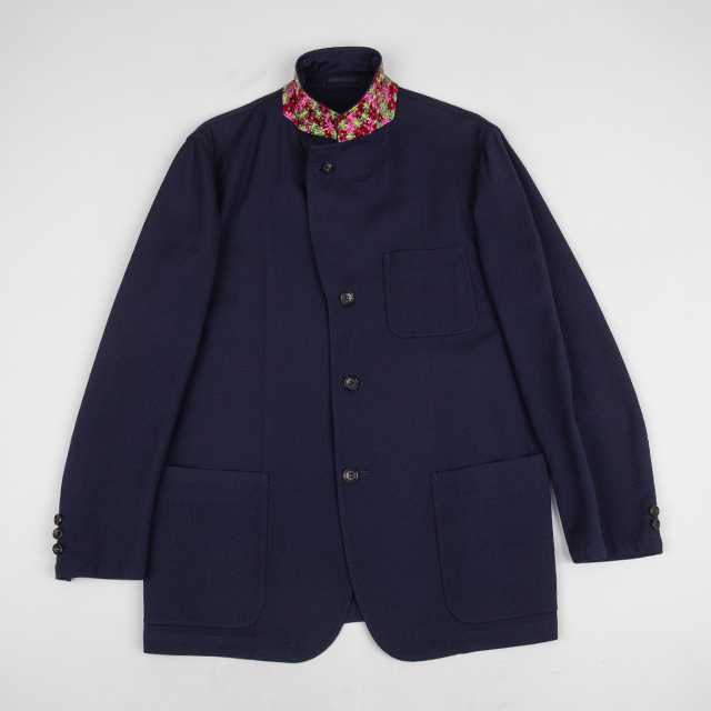 AD2001 COMME des GARCONS HOMME Floral Embroidery Collar Jacket