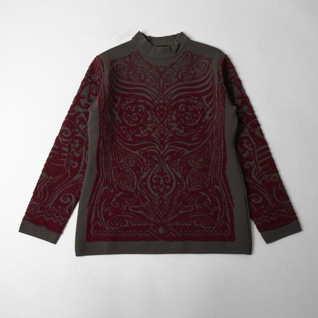 Jean Paul GAULTIER FEMME Jacquard Knit Sweater
