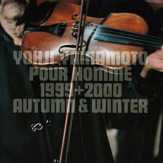 YOHJI YAMAMOTO POUR HOMME 1999+2000 AUTUMN & WINTER