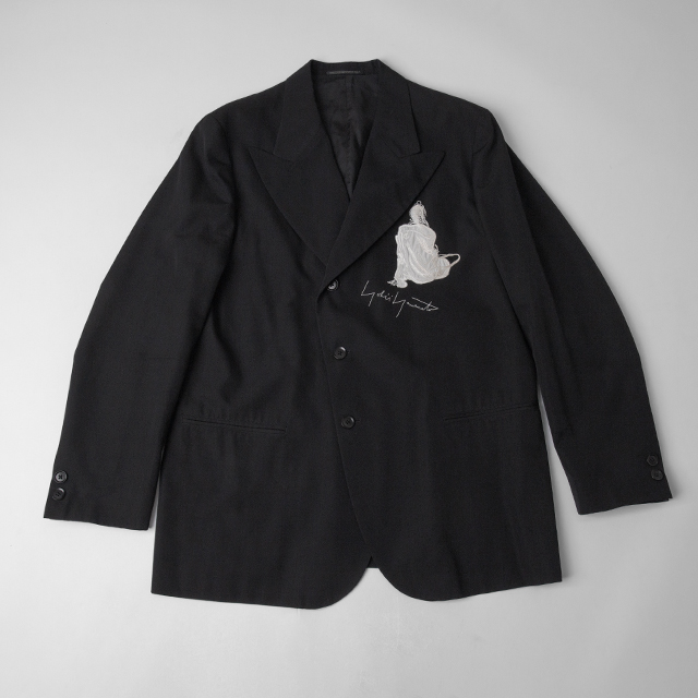 Yohji Yamamoto POUR HOMME Actress Embroidery Jacket
