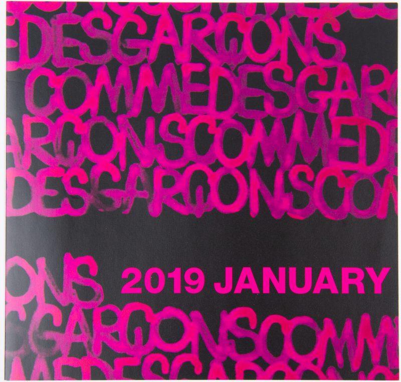COMME des GARÇONS S/S 2019 Invitation cards