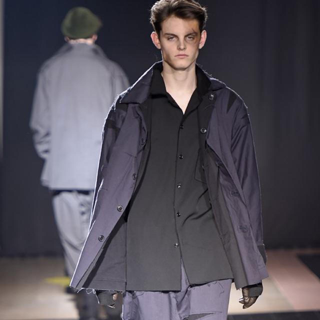 2015A/W Yohji Yamamoto POUR HOMME Cutting Reversible Jacket