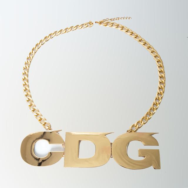 CDG Novelty BIG LOGO Necklace