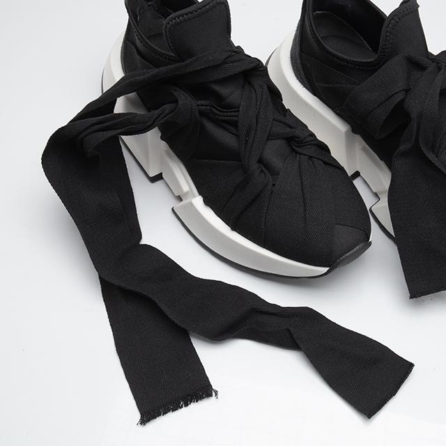 Maison Margiela MM6 Bow Design Flare Sneaker