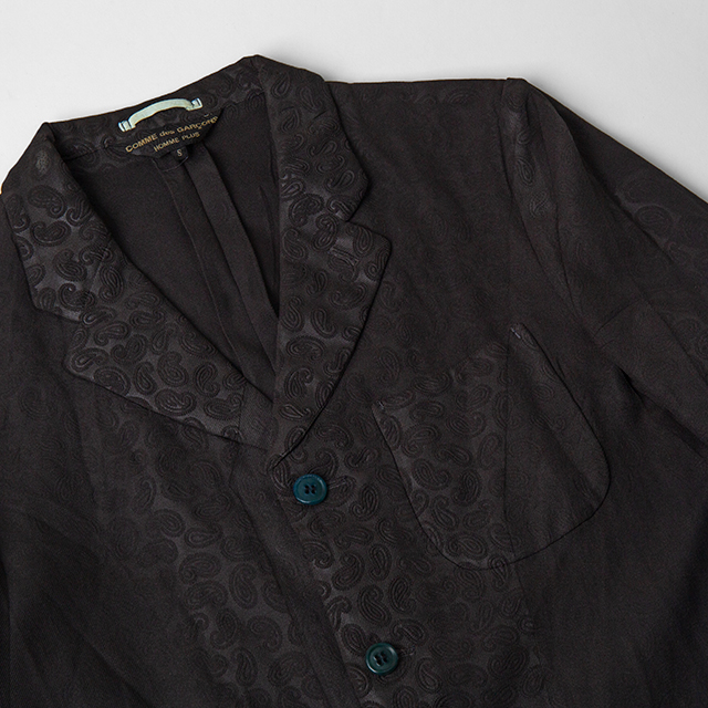 AD2002 COMME des GARCONS HOMME PLUS Paisley Embossed Jacket