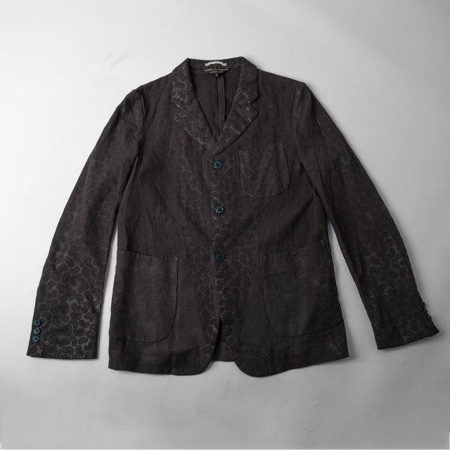 AD2002 COMME des GARCONS HOMME PLUS Paisley Embossed Jacket