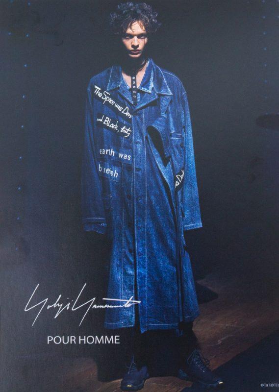 Yohji Yamamoto POUR HOMME 2021 Spring - Summer Invitation Card