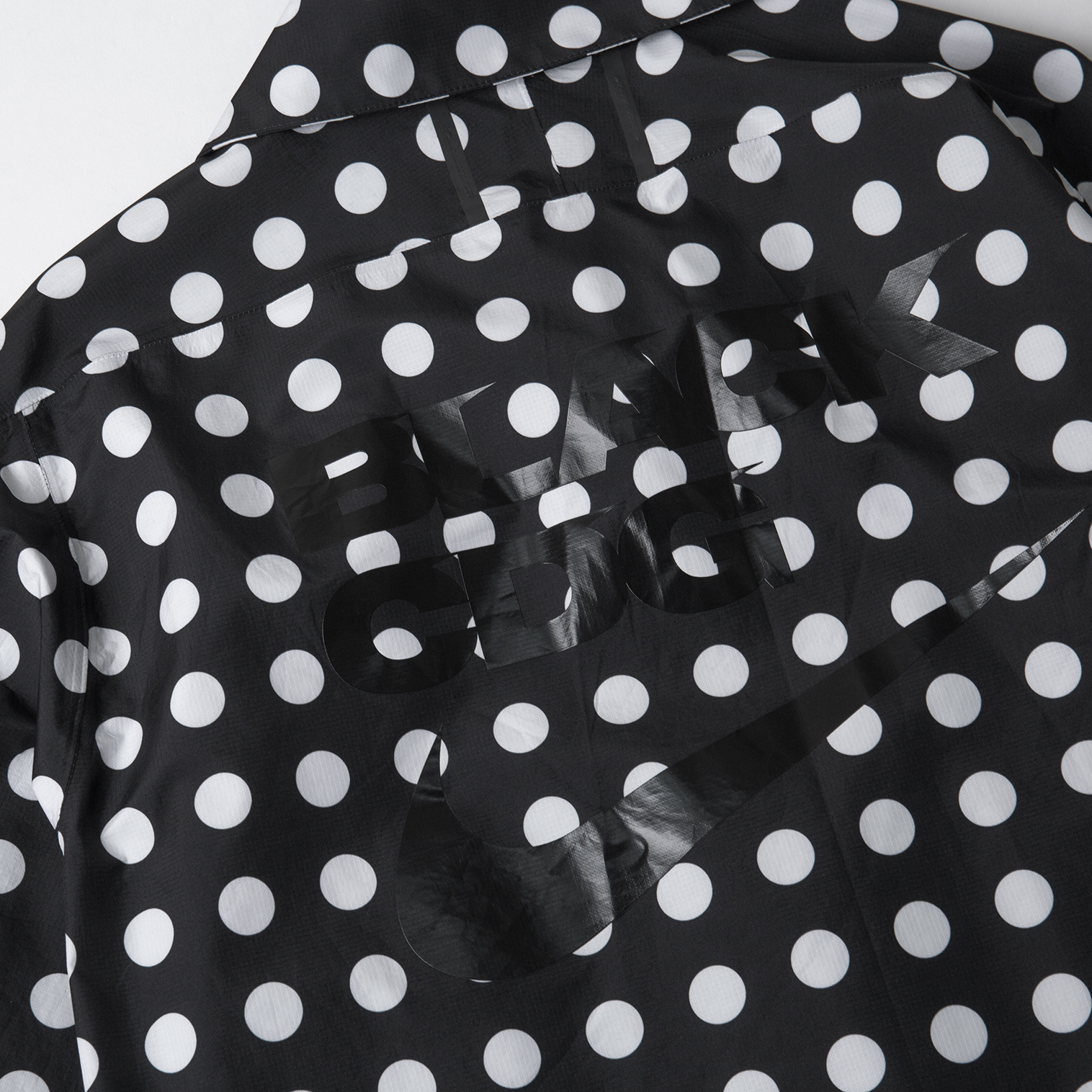 NIKE x BLACK COMME des GARCONS Polka Dot Half Zip Top