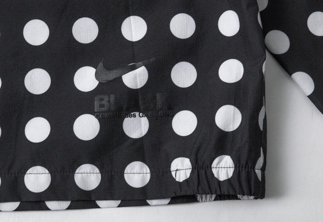 NIKE x BLACK COMME des GARCONS Polka Dot Half Zip Top