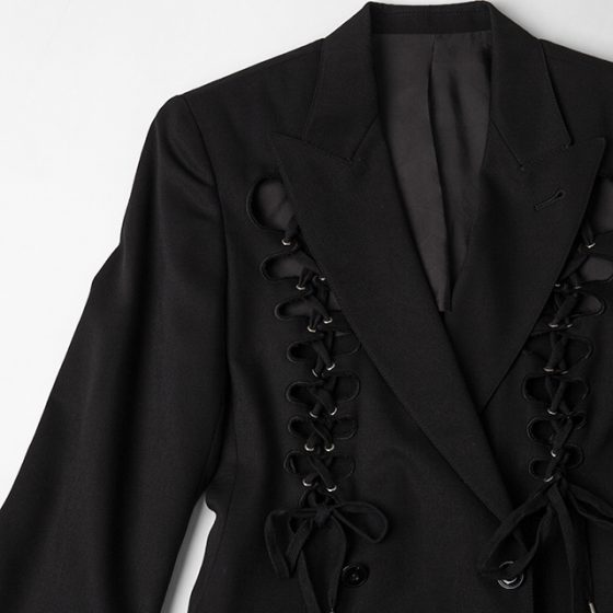 Jean Paul GAULTIER FEMME Lace-up Design Jacket