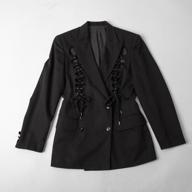 Jean Paul GAULTIER FEMME Lace-up Design Jacket
